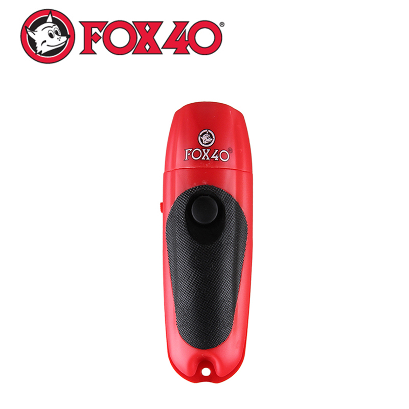 FOX40 Electronic Plastic Manual Whistle Control For Outdoor Sports Bicycle Camping Survival Handy And Hygienic Without Blowing