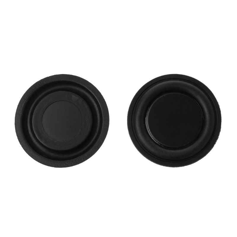 1 Pair 40mm/30mm/45mm/50mm/62mm Passive Radiator Subwoofer Speaker Vibration Membrane Bass Rubber Woofers