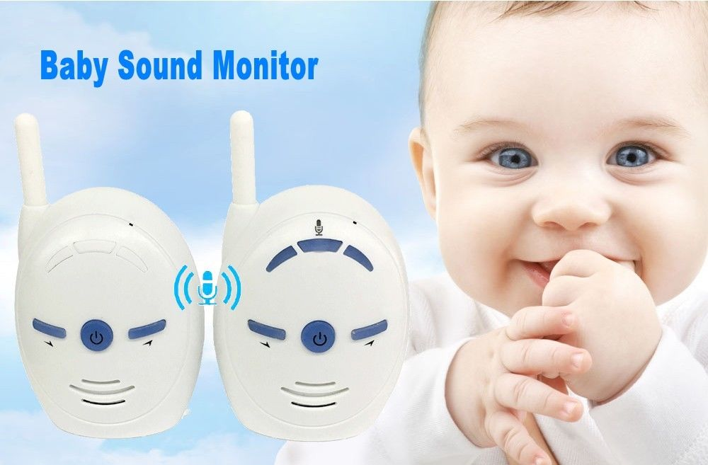 2.4GHz Wireless Infant Baby Monitor Audio Walkie Talkie Kits Baby Phone Alarm Kids Radionana Intercoms Radio Nanny Babysitter