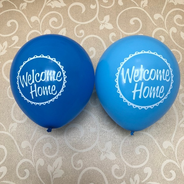 15 welcome home greeting latex party decor balloons house warming 15 welcome home greeting latex party decor balloons house warming surprise get well soon welcome newborn m4hsunfo