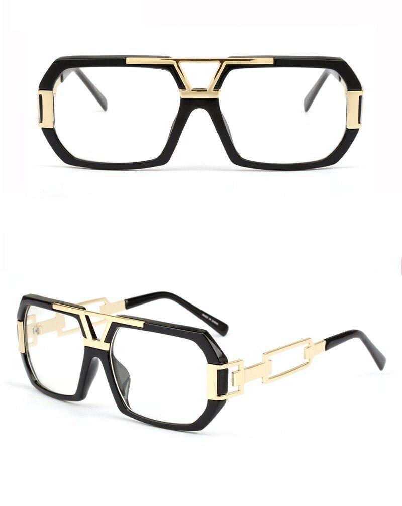Peekaboo Neueste stilvolle marke quadratischen rahmen gläser ...