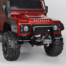 цены RC 1/10 Metal TRX4 Front/Rear Bumper for 1/10 RC Crawler Car Traxxas TRX-4 TRX4 Accessories Upgrade Parts