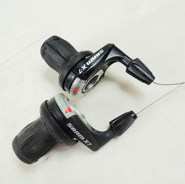 SRAM SX4-3 x 7 speed Grip Shifter New