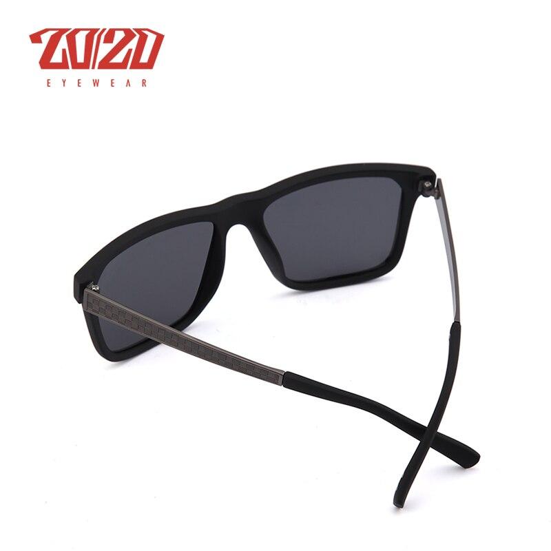 20/20 Marca Retro Hombres Gafas de sol Metal Lattice Frame Man - Accesorios para la ropa - foto 5