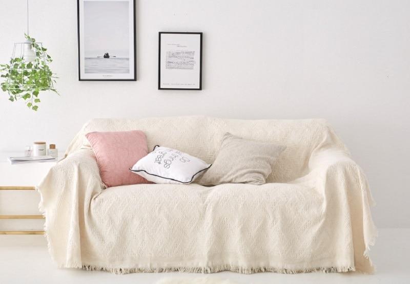 Kupit Domashnij Tekstil Pink Beige Furniture Sofa Covers For
