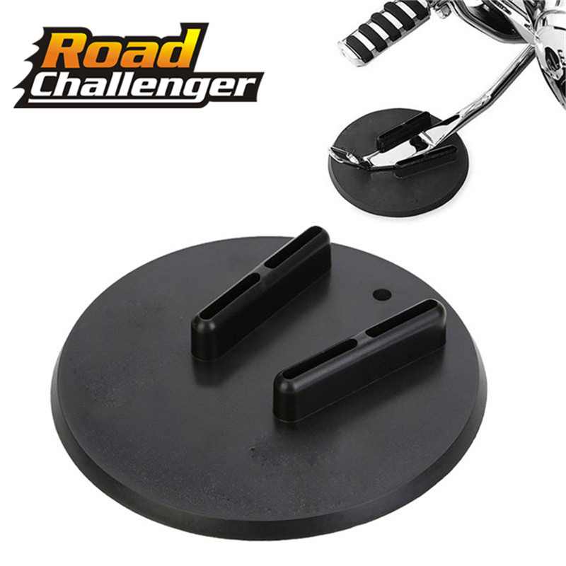 Motorcycle Side Kickstand Jiffy Stand Coaster Pad Puck 1pc For Harley Touring Sportster Dyna Sidestand Kickstand Motorcycle