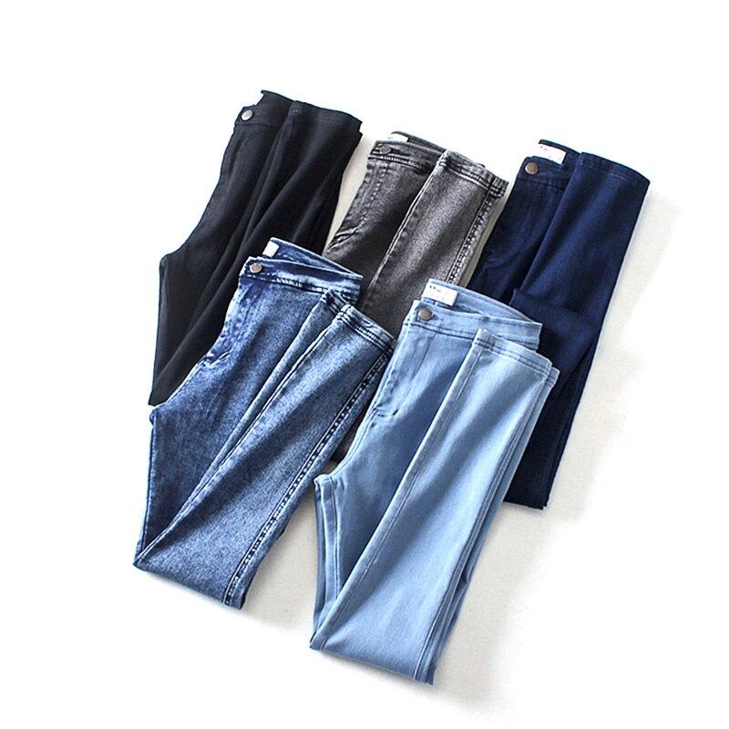 Jeans Woman Denim Pencil Pants Vintage H