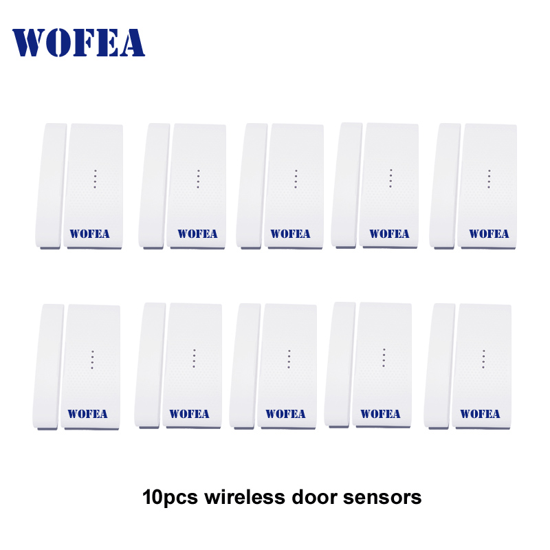 Free shipping CE Wireless window and door sensor 1527 battery not included 10pcs/lot