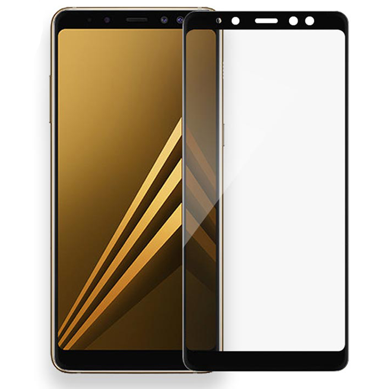 Tempered Glass On The for Samsung Galaxy A6 A8 2018 A6Plus A8Plus A8 A6 Plus 2018 Screen Protector Safety Protective Glass Film