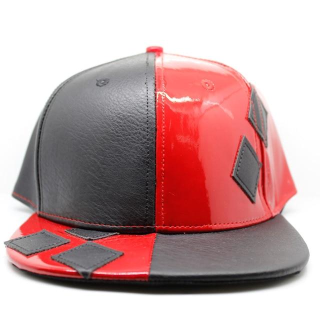 c7a50cc618eb2 New 2017 Suicide Squad Harley Quinn Joker Cap Fashion Baseball Cap Flat  Snapback Hat Man Women