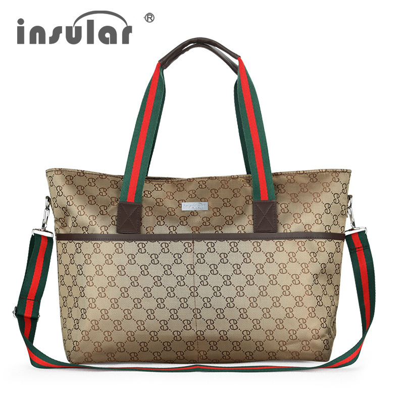 ᗗEuropa de gama alta bolsa de mamá bebé maternidad viaje pañal ...