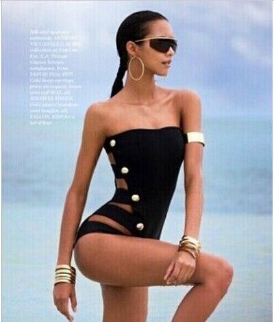 2017 Noir Halter Top Symétrique Cage tresse Femmes Bikini, Taille Haute Traingle Maillot de Bain Sexy À Tricoter Maillots De Bain