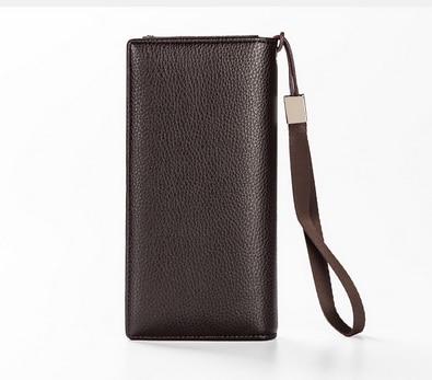Männer 20 Durch Männlichen Leder Kupplung Handtaschen Geldbörse Brieftasche Dhl Ems Brown Brieftaschen Baellerry Armband Oder Stücke r6WSW8n
