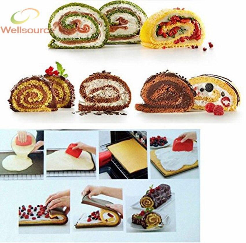 Swiss Roll Kuchen Matte Flexible Backblech Silikon Kuchen Hersteller  Silikon Backmatte Swiss Roll Kuchen Hersteller In Swiss Roll Kuchen Matte  Flexible ...