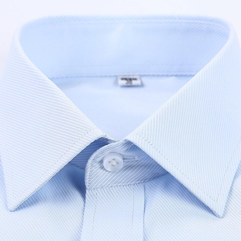 Men s 2017 Cotton Stripes hot Spring Autumn Dress Long Sleeved Oblique Striped Men s Business