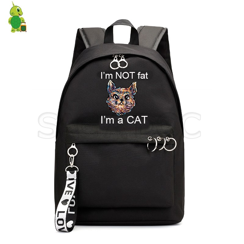 Cute Cat Backpack Animal Printed School Bags for Girls College Students Laptop Backpack Casual Backpack Fashion Travel RucksackCute Cat Backpack Animal Printed School Bags for Girls College Students Laptop Backpack Casual Backpack Fashion Travel Rucksack