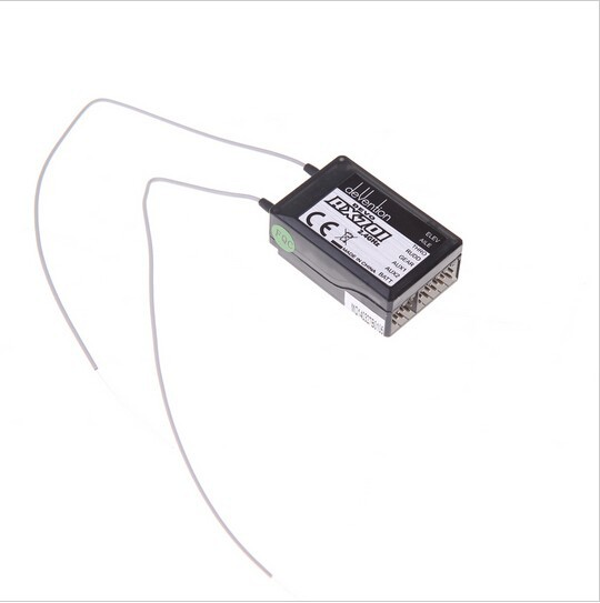 Original Walkera Part RX701 2.4Ghz 7ch Receiver for Walkera DEVO 6/7/8s/12s Transmitter F03392