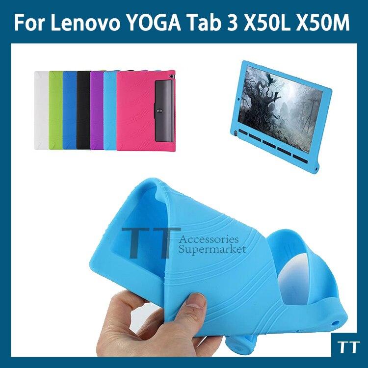 Чехол для планшета YOGA Tab 3 10 X50L X50M, мягкий силиконовый чехол для Lenovo YOGA Tab 3 10 X50 X50L X50M 10,0