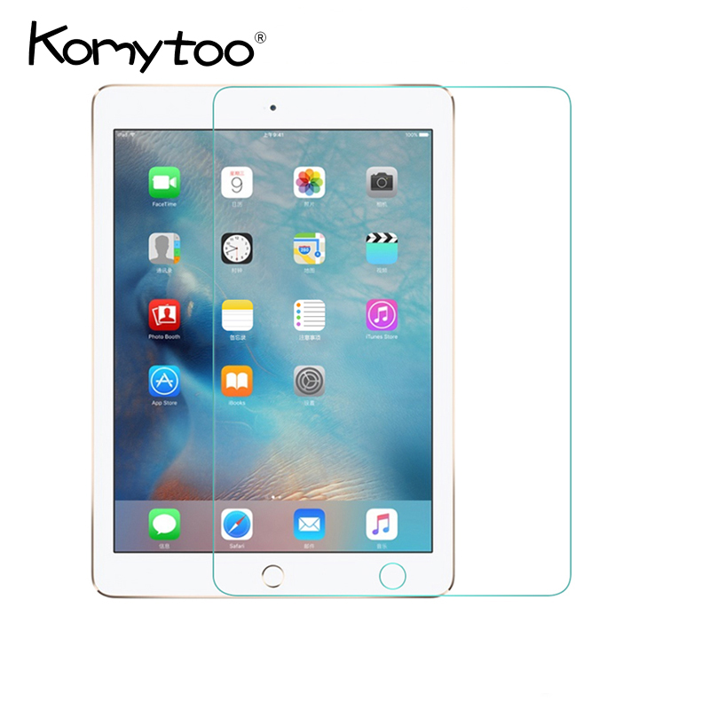 Tablet Screen Protector for Apple 2017 New ipad 9.7 inch Screen Protector Film Hard Cover For New iPad 9.7 2017 Tempered Glass