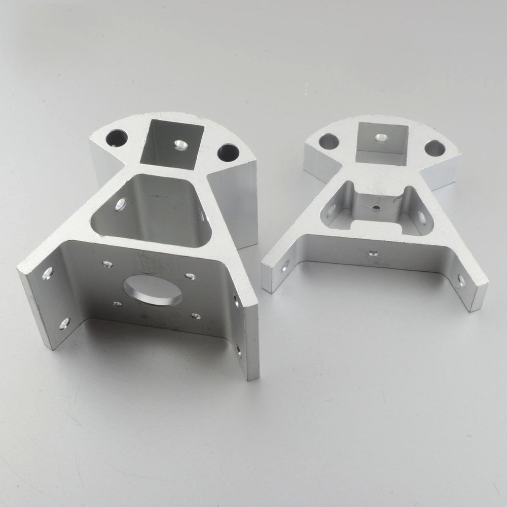 3D Printer Kossel Mini CNC Aluminum Anodized Corner SET OF 6 PCS RepRap Delta qidi technology a set of aluminum block with cable for qidi tech i 3d printer