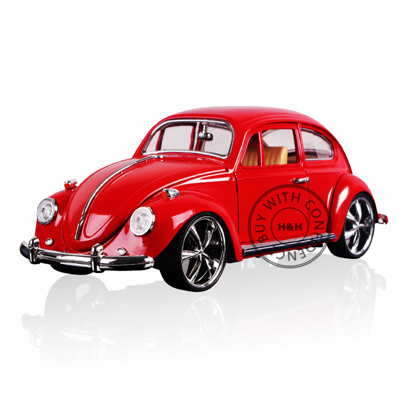 3 Colors 1:18 Scale Models Diecast Figure Vintage Classic Cars Alloy Toys Educational Toys For Children Boys Simple package maisto car styling 1 18 scale diecast alloy model cars ford classic car models kids toys for boys children gift brinquedo