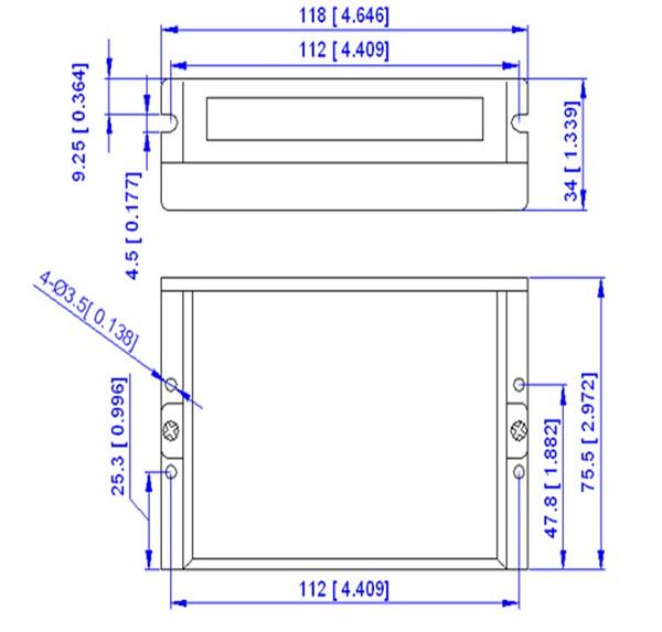 BLM57050-1000+ACS606-ACS606-Dimension