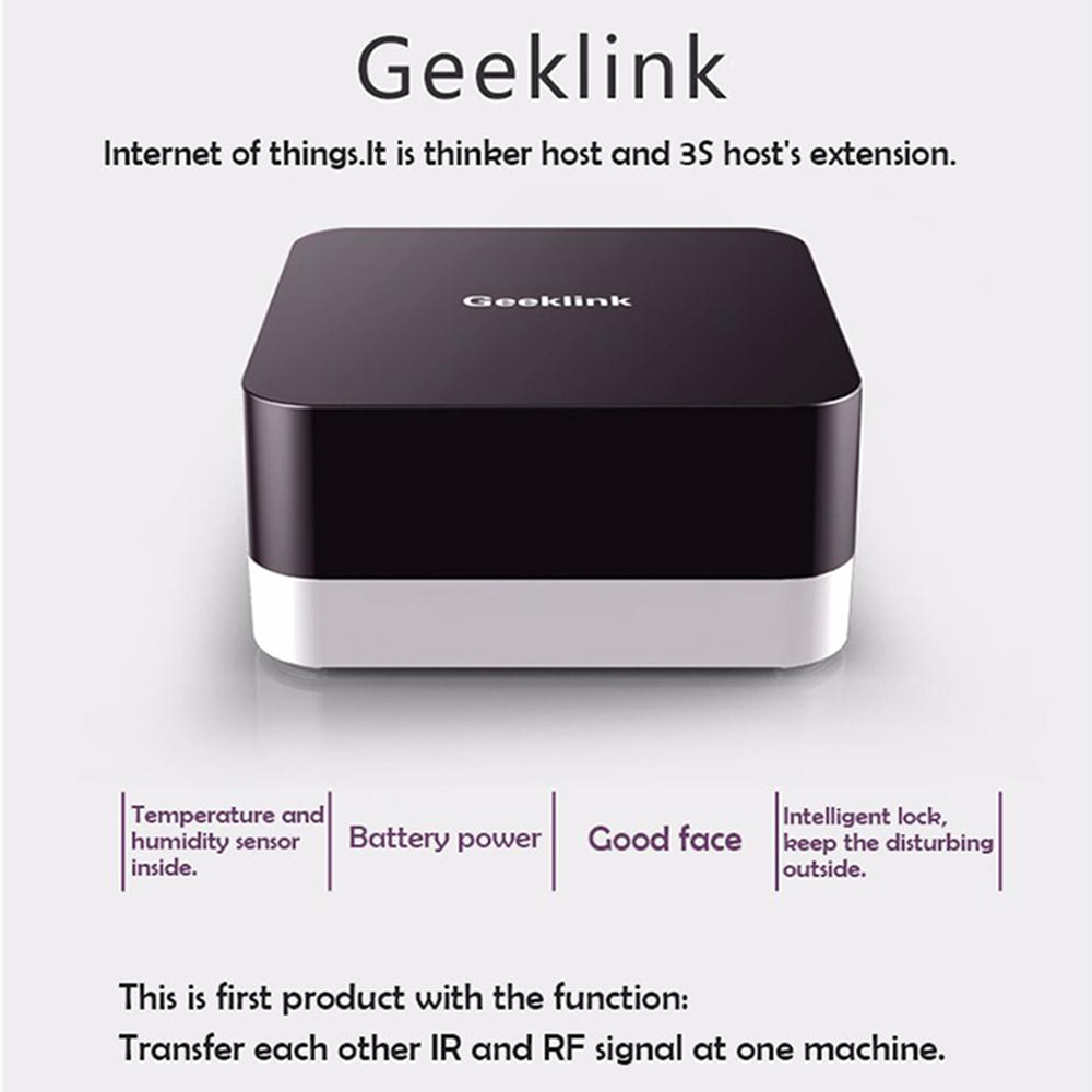 Geeklink Extension Branch Smart Home Remote Control WiFi Wireless RF Infrared Signal IOT Repeater For Geeklink Thinker Smart