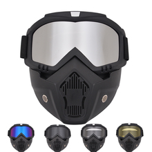 Goggles mask off-road goggles motorcycle glasses mountaineering windshield retro locomotive anti-shock