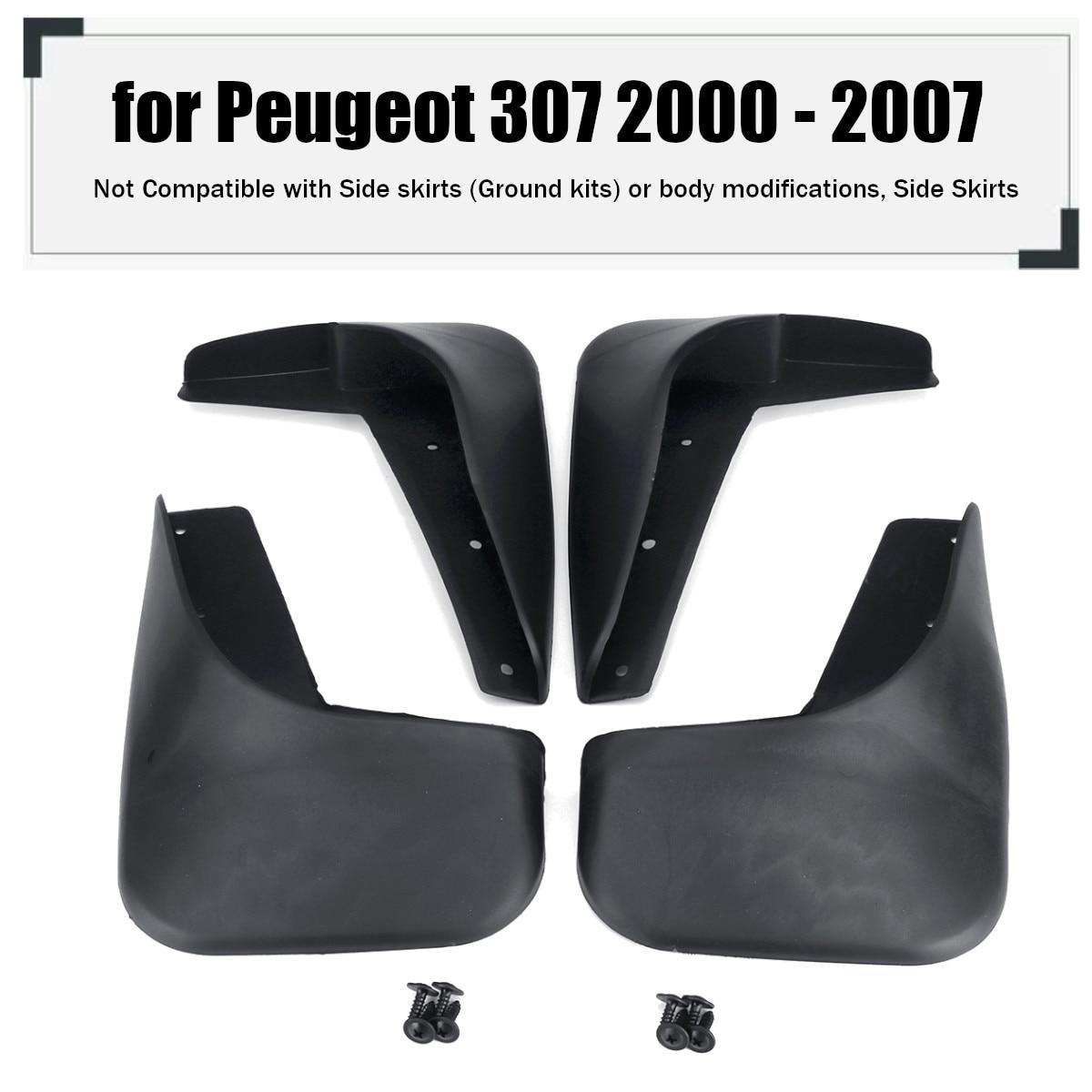 Автомобильные Брызговики для крышек аксессуары для Peugeot 307 2000 2001 2002 2003 2004 2005 2006 2007