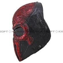 Вечерние маска для пейнтбола страйкбол проволочная сетка Каратель полная маска для лица bd8868