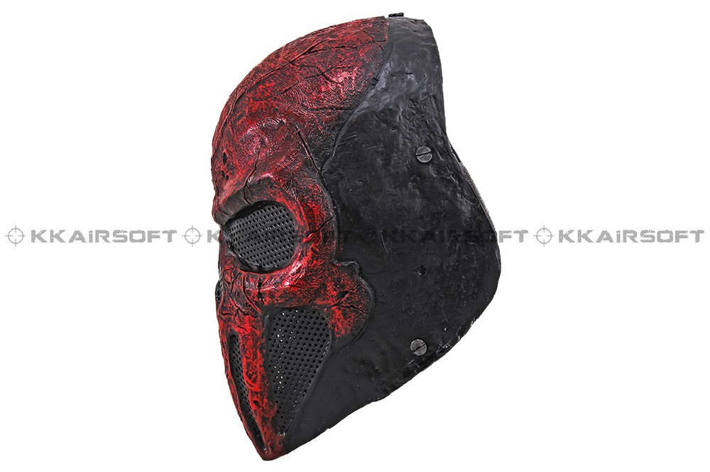 Party Mask Paintball Airsoft Wire Mesh Punisher Full Face Mask Bd8868