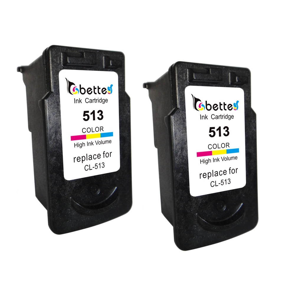 2PK,CL513 Ink Cartridges for Canon CL-513 PIXMA iP2700 iP2702 MP230 MP240 MP250 MP270 MP280 MX320 MX330 MX340 MX350 MX360 MX410