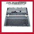 Nova rússia com moldura ru preto do teclado do portátil para samsung np355v4c 355v4c 355e4c com quadro de teclado