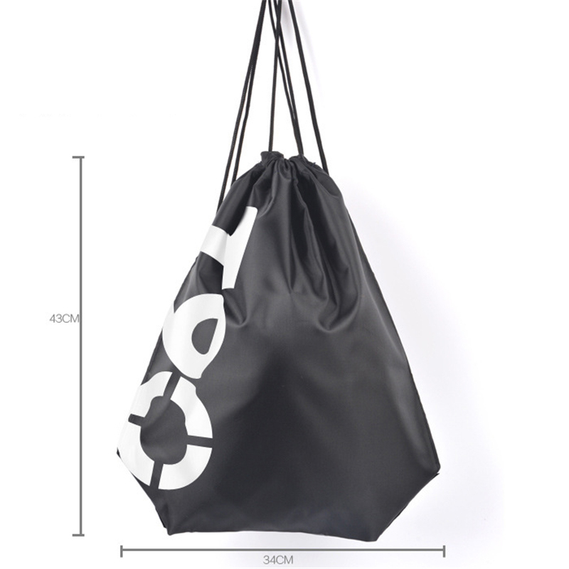 Foldable Beach Bag Portable Storage Bag Children Outdoor Dredging Tool Backpack Swimming Toy Towel Clothes Swimming Bag Summer