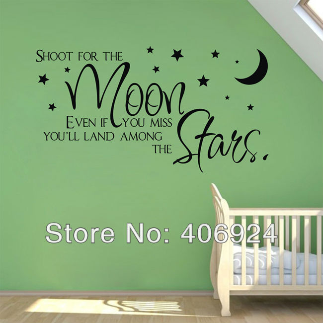 Wall Decals Quotes For Nursery Custom Vinyl