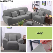 LARSCOWWQ Elastic Stretch Chair Couch Sofa Covers 1 2 3 4 Seater Protector Cover Slipcover