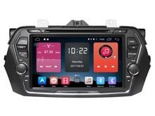 4G LITE Android 6.0 2 GB ram coche reproductor de dvd gps para Suzuki Alivio Ciaz 2015 2016 unidades principales de navegación radio DVR cinta grabadora