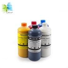 Winnerjet Direct-To-Garment (DTG) Textile ink for Epson stylus pro 1390 1400 1410 1430 printer( C+M+Y+K+White) vilaxh 1pcs g 71 g71 gear lubricating oil for epson stylus 1390 1400 r1390 r1400 1410 1430 1500w printer grease