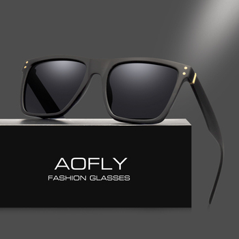 AOFLY Men Polarized Sunglasses Vintage Male Sunglasses Polaroid lenses Fashion Brand Designer Goggles Oculos Gafas De So AF8033