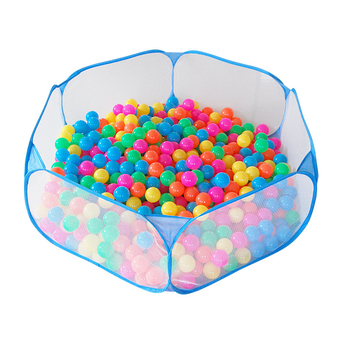 120cm Indoor Outdoor Baby Playpen Portable Safety Net Ocean Pit Ball Pool Baby Kids House Play Toy Tent Birthday Gift