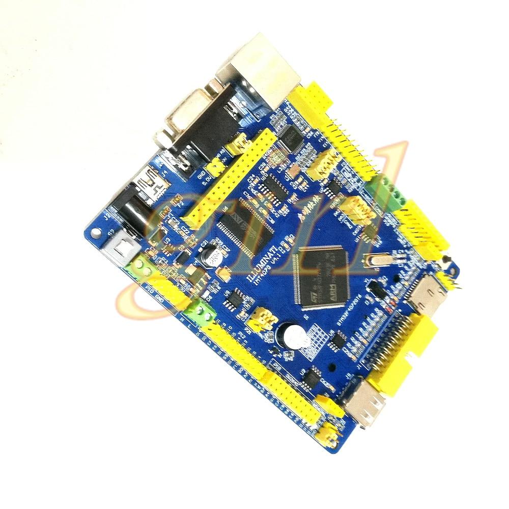 STM32F407 development board MCU Internet of things development board network port dual can Bluetooth WiFi music