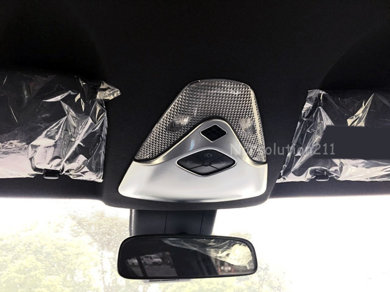 Car Front Roof Reading Light Dome Lamp Cover Trim Car Styling For Toyota C-HR CHR 2016 2017 2018 ABS Matte Interior Accessories