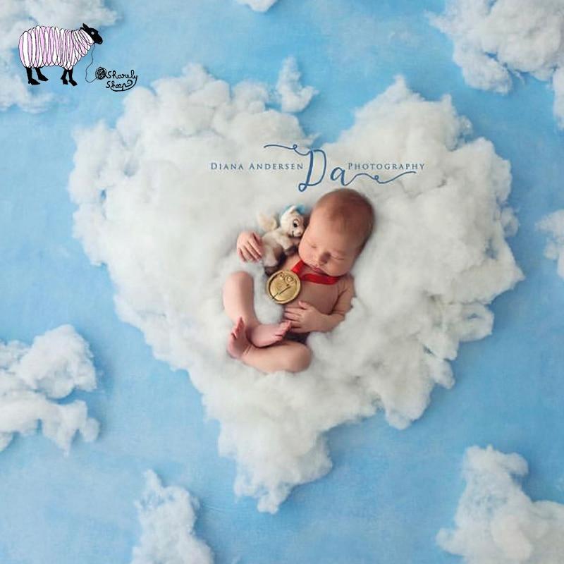Mother & Kids Puseky 50 X 60cm Newborn Baby Infant Fake Fur Rug Blanket Photography Photo Background Props Basket Stuffer Filler Long Performance Life