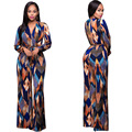 Printed Rompers Womens  Bodycon Jumpsuits Summer Long Pants Wide Legs Club Wear Bodysuit Women Jumpsuit