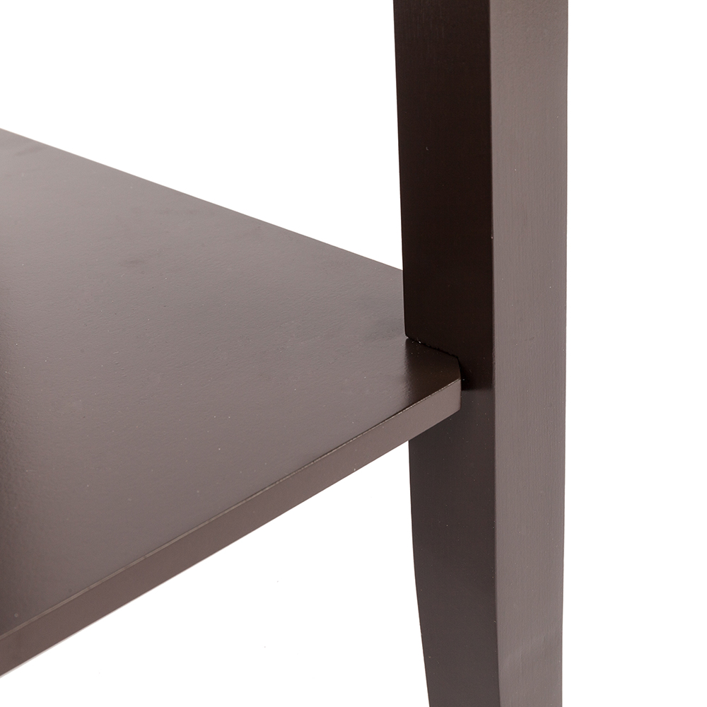 Mega Deal F25b Coffee Side Table With Double Layer High Footed