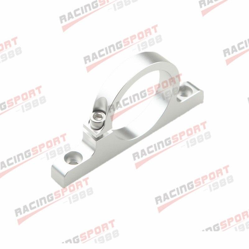 """2 """"50,8mm Id Aluminium Kraftstoffpumpe Halterung Billet Filter Clamp Cradle Silber"""