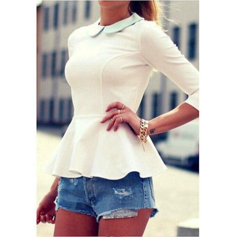 2015 Women Cotton TOP Casual T-Shirt Summer Cute Tops