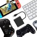 Адаптер для мыши и клавиатуры  usb для PS4  Nintendo NS  переключатель  портативный конвертер для Xbox One  аксессуары для клавиатуры и мыши