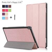 Pretty Girls Happy Life For Lenovo Tab 4 10 Tablet Case Lenovo TAB 4 10 TB