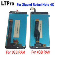 LTPro For Redmi Note 4X LCD Display Touch Screen Digitizer Replacement Test Good For Xiaomi Redmi